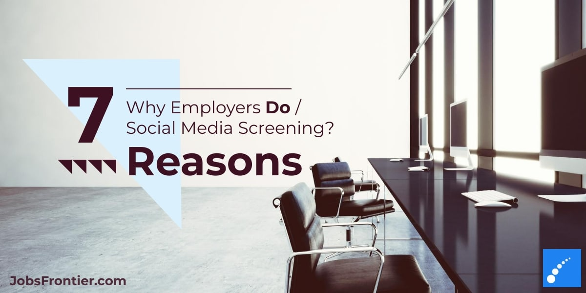 Why Employers do social media screening