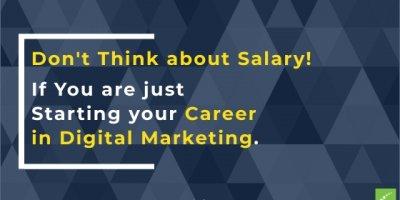 Salary in Digital Marketing