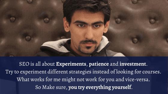 Iftekhar Ahmed Quote