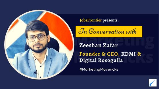 Interview with Zeeshan Zafar KDMI